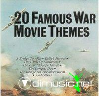 Cover Album of 20 famous war movie themes