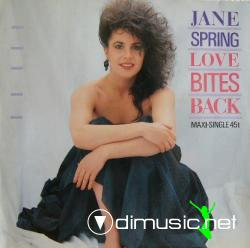 Jane Spring - Love Bites Back (12''Vinyl) (1985)