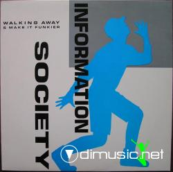 Information Society - Walking Away  -Vinly 12'' -1988