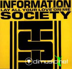 Information Society - Lay All Your Love On Me - Vinly 12'' - 1989