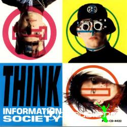 Information Society - Think  - Maxi Single - 1990