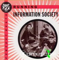 Information Society - Running -  Maxi Single - 1993