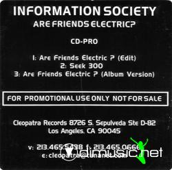 Information Society - Are Friends Electric - Maxi - 1997
