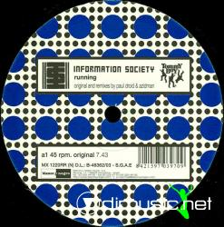 Information Society - Running - Vinly 12'' - 2002