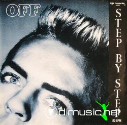 Off - Step By Step - Vinly 12'' Single- 1987