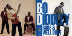 Cover Album of Bo Diddley - Rare and Well Done