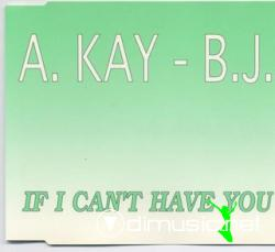 A. Kay. B.J - If I Can't Have You (Maxi-CD) 1993
