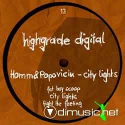 Cover Album of Homm & Popoviciu - City Lights