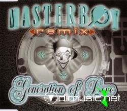Cover Album of MASTERBOY - GENERATION OF LOVE (REMIXES) (1995)