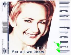 NICKI FRENCH - FOR ALL WE KNOW (CDM - 1995)