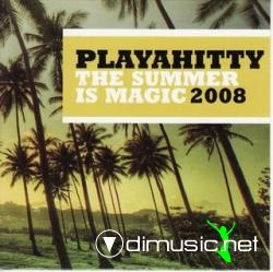PLAYAHITTY - THE SUMMER IS MAGIC 2008 (2008) (320 KBPS)