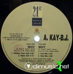 Cover Album of A KAY B. JAY - WHY