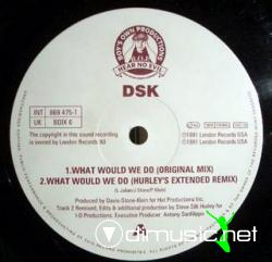 D.S.K. - WHAT WOULD WE DO (CDS - 1991) (320 KBPS)