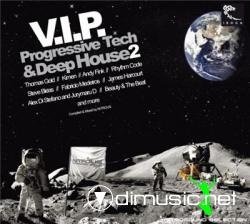 Cover Album of V.I.P. Progressive Tech & Deep House 2 (2008)