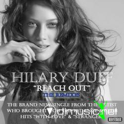 Cover Album of Hilary Duff - Reach Out: The Remixes (EP) 2008