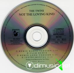 The Twins - 1991 - Not The Loving Kind (Remix) (Maxi Cd).