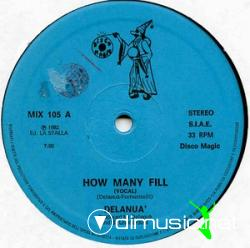 Delanua - How Many Fill - Vinly 12'' - 1982