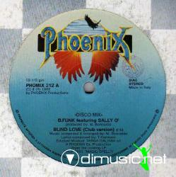 B.Funk Featuring Sally O' - Blind Love - Vinly 12'' - 1982