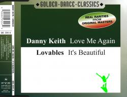 Danny Keith - Love Me Again & Lovables - It's Beautiful (2001) (CD Single)