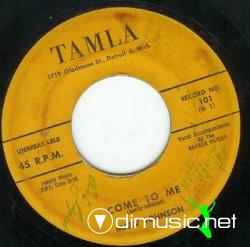 Marv Johnson - Come To Me (Tamla 101)