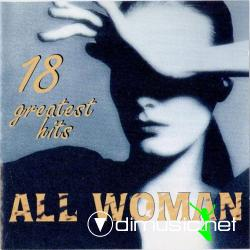 V.A.-ALL WOMAN 18 GREATEST HITS