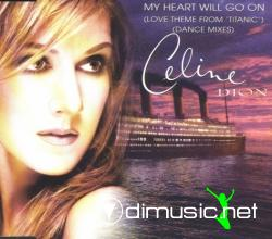 Celine Dion - My Heart Will Go On (Remixes)