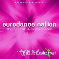 Euro Dance Nation 90' vol 08