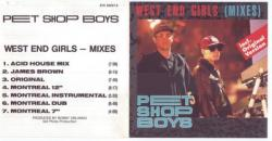 Pet Shop Boys - West End Girls (Remixed)