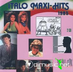 Cover Album of VA - ITALO MAXI HITS (1985)