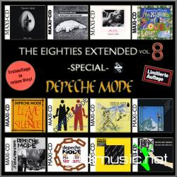 Cover Album of Various - The Eighties Extended 12 Inches Vol. 8 (Special Depeche Mode)