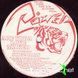 Shezoray - Are You A Love Maker (12 Vinyl) (1983)