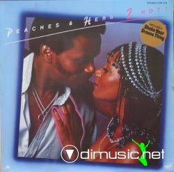 Peaches & Herb - 2 Hot! [1978, Vinyl]