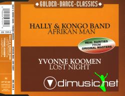 Hally & Kongo Band - Afrikan Man & Yvonne Koomen - Lost Night (2001)