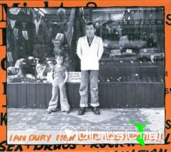 Cover Album of IAN DURY - New Boots And Panties!! (1977,Remaster released: 2004)