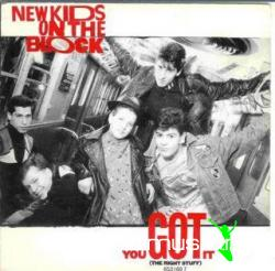 New Kids On The Block  (You Got It) Right Stuff [1989]