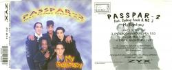 Passpar-2 feat. Sydney Fresh & MC J - My Fantasy (CDM) 1996