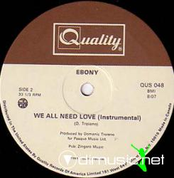 BONY - WE ALL NEED LOVE (1982) (128 KBPS)