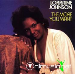 Lorraine Johnsson - The more i get the more i want (1977)