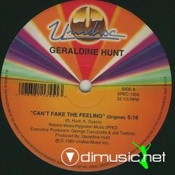 Geraldine Hunt - Can't fake the feeling (1980)