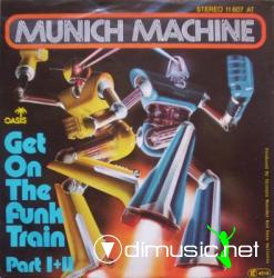 Munich Machine - Get on a funk train (1977)