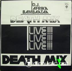 Afrika Bambaataa - Death Mix  - Vinly 12'' - 1983