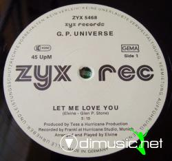 G.P. Universe - (1986) - Let Me Love You 12''