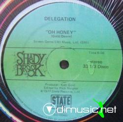 Delegation - Oh Honey 12Inch (1980)