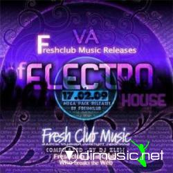 Fresh club Music Releases Of Electrohouse (17.02.2009)