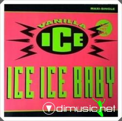 Vanilla Ice - Ice Ice Baby, Maxi-Single (1990)