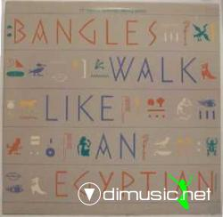 Bangles - Walk Like An Egyptian  - 12'' Single - 1986