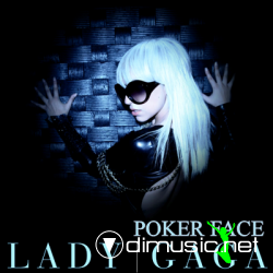 Lady Gaga Poker Face US Promo CD