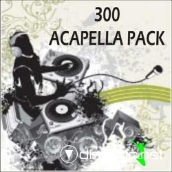 300 Acapella Pack (DJ Tools)