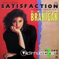 Laura Branigan Satisfaction (Maxi) (1984) Vinyl
