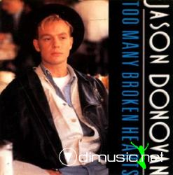 Jason Donovan -  Too Many Broken Hearts (Maxi) (1989)